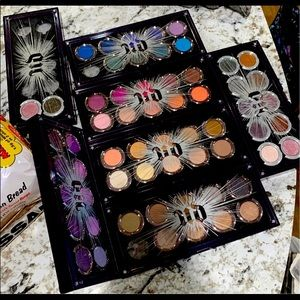 67pc New Urban Decay eyeshadow 7 cases makeup lot